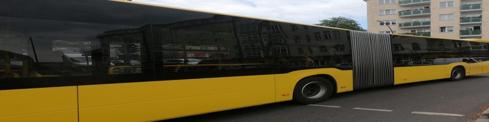 Weil wir dich lieben – Berliner Verkehrbetriebe – ist mir egal